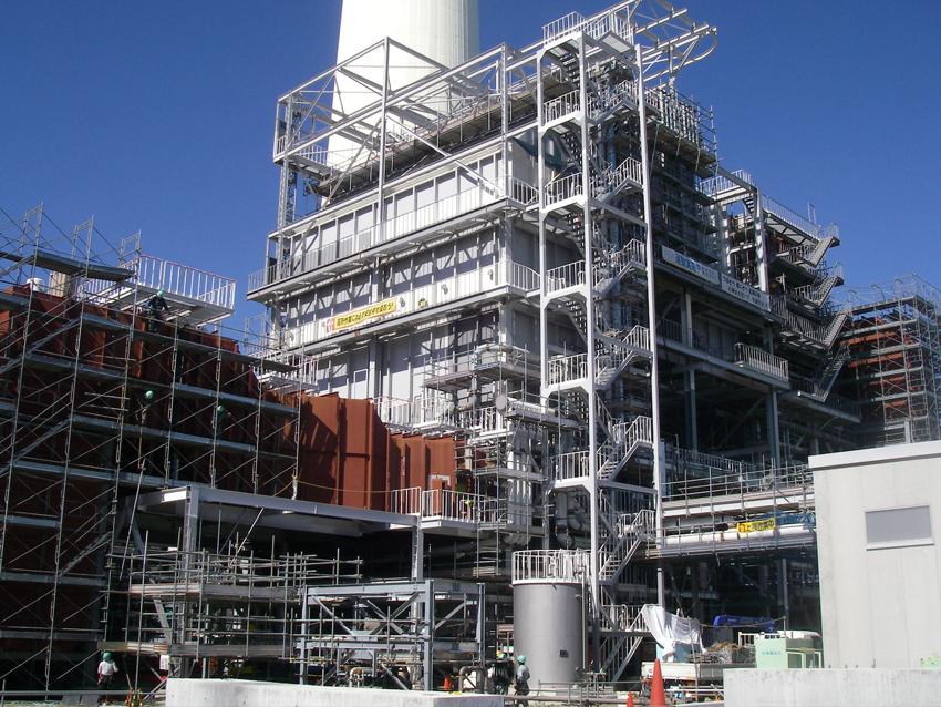 福島県 排煙脱硫装置 製作・据付工事