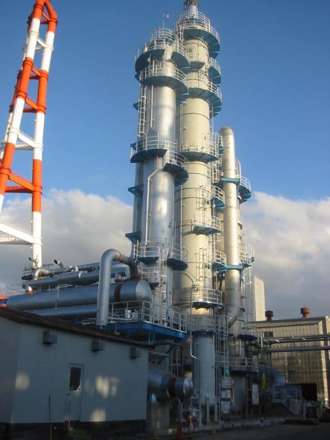 福岡県 CO2回収装置 製作・据付工事