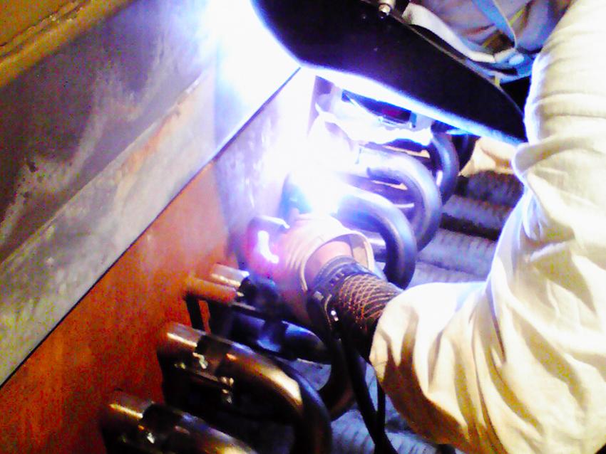 チューブバンドル工場製作